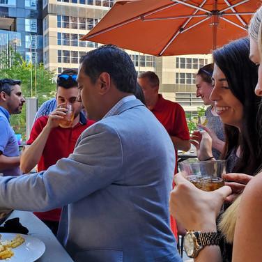 PTP Chicago-Hyatt Hotels client dinner-b