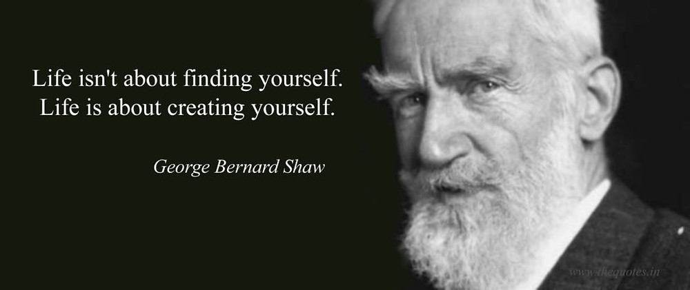 George Bernard Shaw quote - personal brand