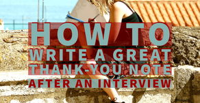 How to write a great thank-you note after an interview