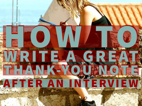 Thank You Email After an Interview: 5 Must Know Tips