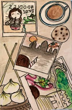 Café ©Natty Illustrations