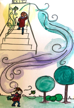 The First Step ©Natty Illustrations