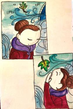 The Leaf ©Natty Illustrations