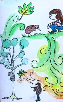Kiwi ©Natty Illustrations