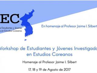 1er Workshop de Estudiantxs Argentinxs en Estudios Coreanos