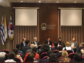 Conferencia Internacional en Universidad Católica de Uruguay
