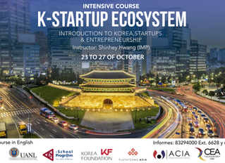 "Intensive Course ""K-Startup Ecosystem. Introduction to Korea, Startups & Entrepreneurship"""