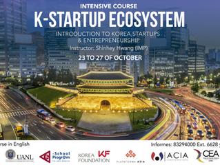 "Intensive Course ""K-Startup Ecosystem. Introduction to Korea, Startups & Entrepreneurship"""