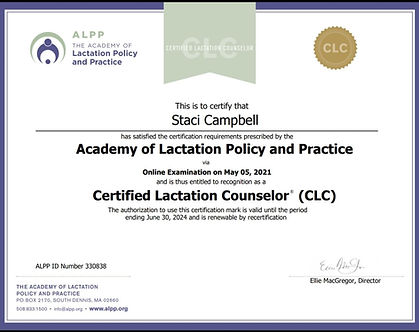 Staci Campbell, CLC