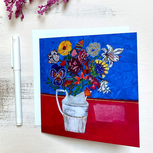 """Still life"" GREETING CARD"