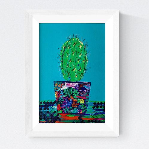 """""""Cactus"""" SIGNED FINE ART PRINT"""