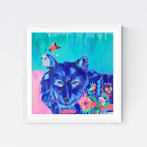 """Howling for you"" SIGNED FINE ART PRINT"