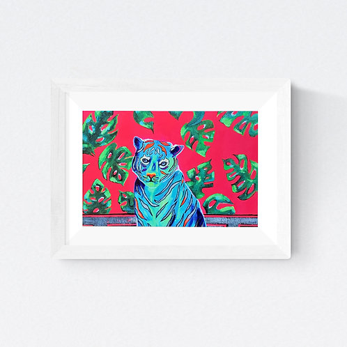 """Very Expensive Tiger"" SIGNED FINE ART PRINT"