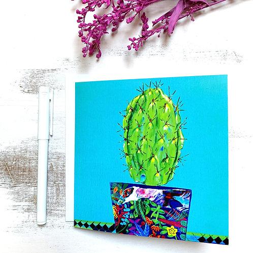 """Cactus"" GREETING CARD"