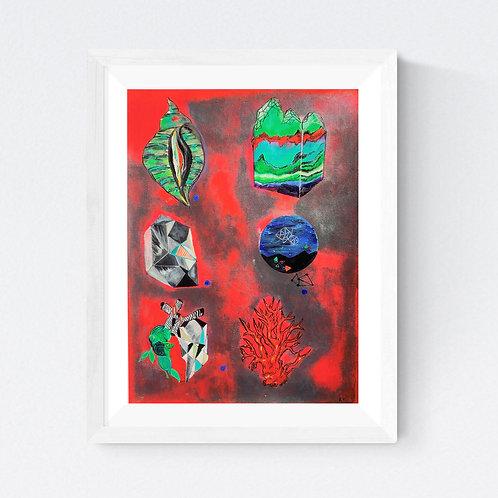 """Cosmic"" SIGNED FINE ART PRINT"