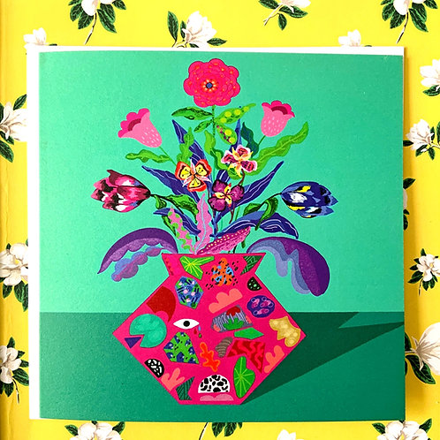 Floral Escape GREETING CARD