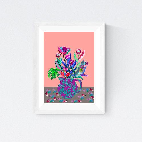 """""""Summer Bouquet""""  SIGNED FINE ART PRINT"""