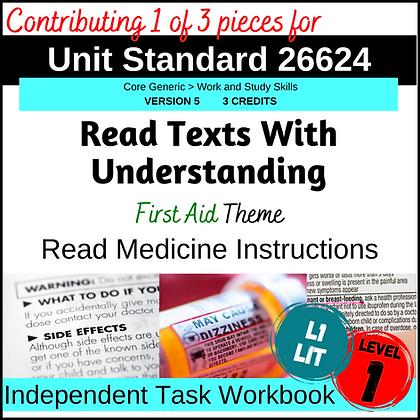 US26624 Reading - Medicine Instructions