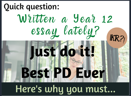 Just do it!  Best PD Ever!