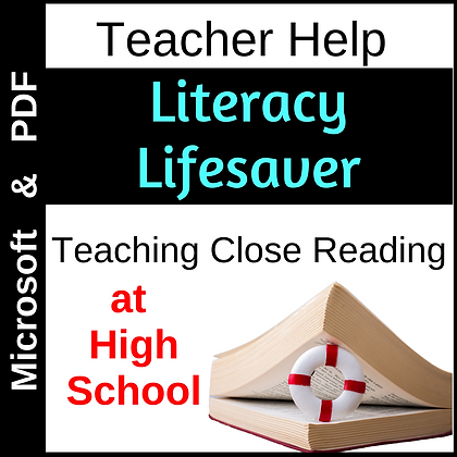 Literacy Lifesaver