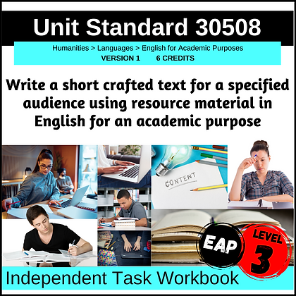 US30508 - EAP L3 - Write a Short, Crafted Text