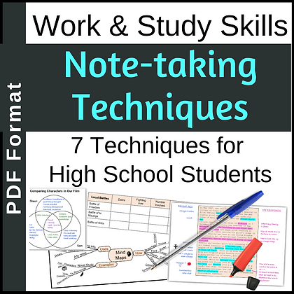 7 Note-taking Techniques