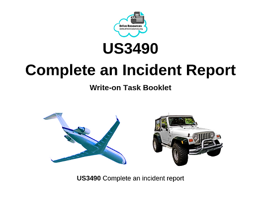 US3490 Write Incident Report - Brush with Death