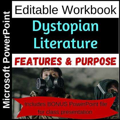 Dystopian Literature - Notes & Workbook
