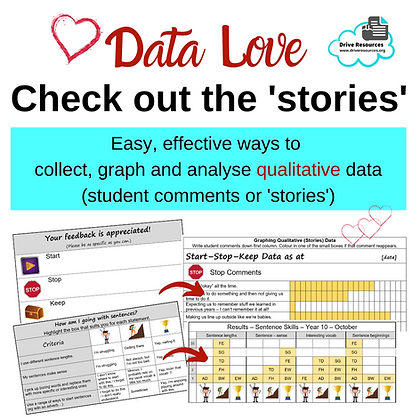 Data Love - Check out the Stories