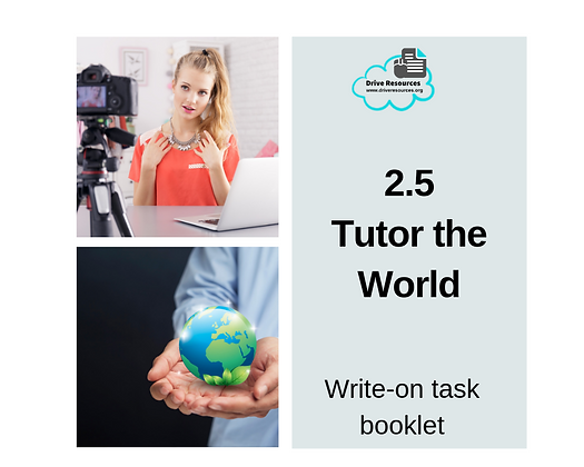 2.5 Oral Text - Tutor the World