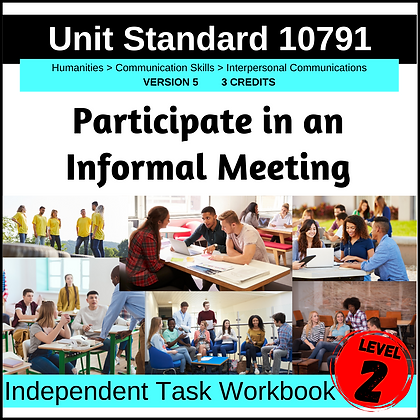 US10791 - Participate in an Informal Meeting