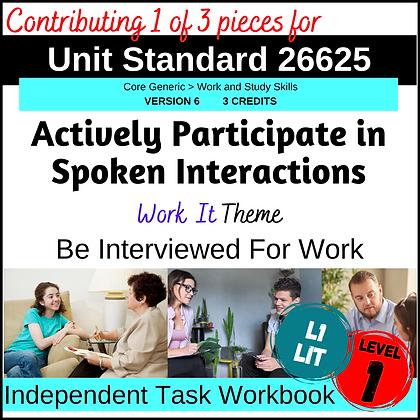 US26625 Speaking - Job Interview