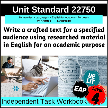 US22750 - EAP L4 - Write Crafted Text