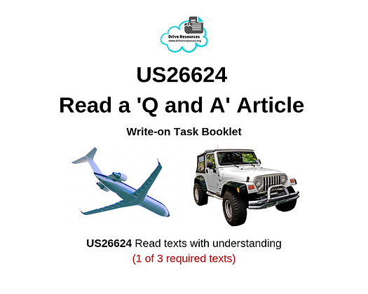 US26624 Reading - Q and A Article - Brush with Death