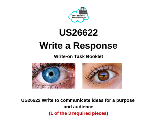 US26622 Writing - Response to Documentary - Blues and Browns