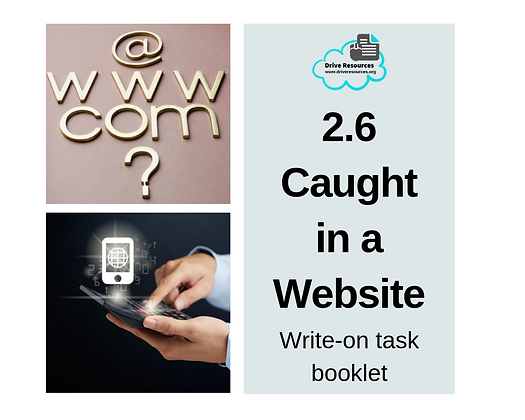 2.6 Create Visual-Verbal Text - Caught in a Website