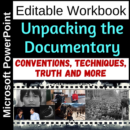 Unpacking the Documentary - Reference and Workbook