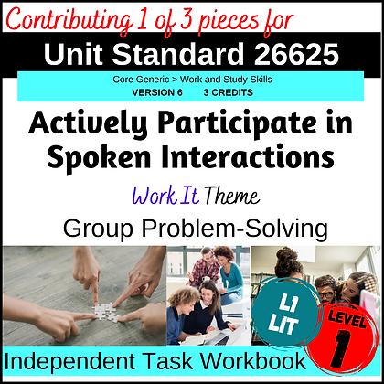 US26625 Speaking - Group Problem-Solving
