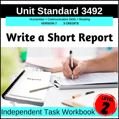 US3492 Write a Short Report