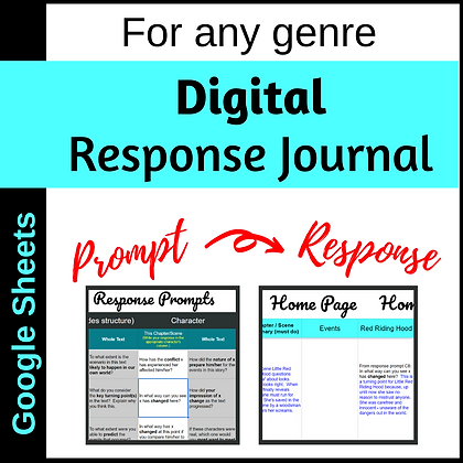 Response Journal (Google Sheets)