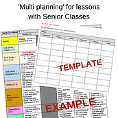 Engaging Your Senior Students with multi