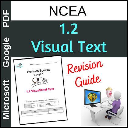 Revision Booklet - Level 1 Visual Text