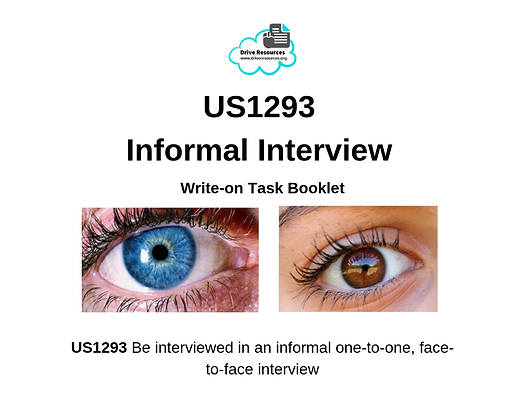 US1293 Informal Interview - Blues and Browns