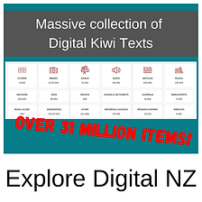 New Zealand texts available in digital format. NZ articles, films.