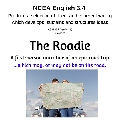 3.4 Writing - The Roadie