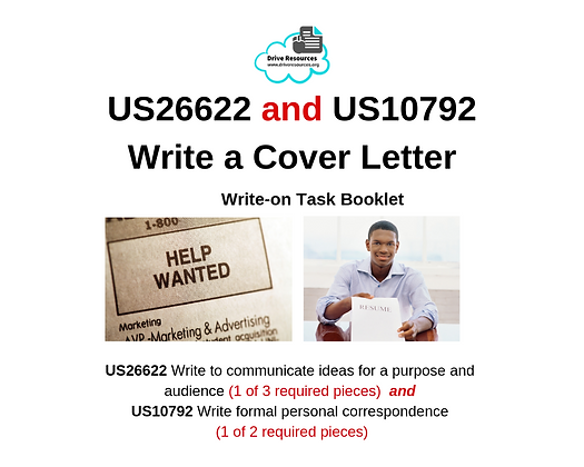 US26622 and US10792 Write Cover Letter - Work It