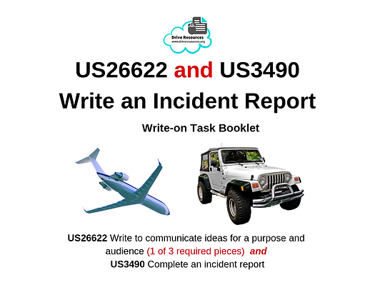 US26622 and US3490 - Write Incident Report - Brush with Death