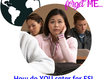 The ESOL student in your class
