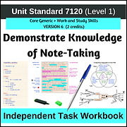 US7120 Note taking Drive Resources