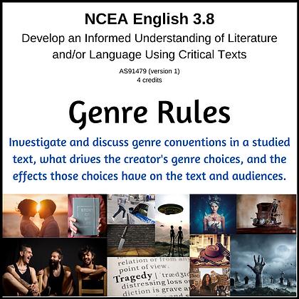 3.8 Understanding Lit/Lang w. Critical Texts - Genre Rules